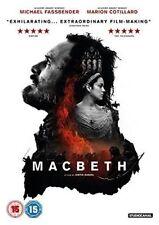 Macbeth Michael Fassbender Drama 1 DVD Slipcase 2015 VGC