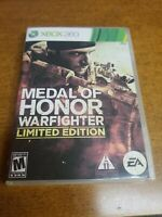 Medal of Honor: Warfighter -- Limited Edition (Microsoft Xbox 360, 2012)(Tested)