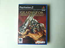GLADIATOR SWORD OF VENGEANCE PLAYSTATION 2 PS2 PAL ESPAÑA PRECINTADO NEW SEALED