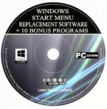 Classic Start Menu Button Software - Windows 7 Style Back To Windows 8/8.1/10 CD