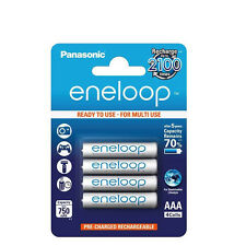 4 PILES ACCU ENELOOP RECHARGEABLE AAA LR03 1.2V 750mAh Ni-Mh BATTERY BATTERIE