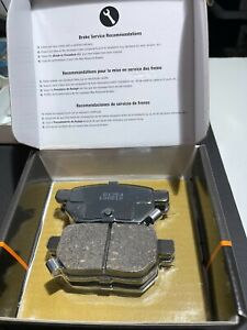 Rear Disc Brake Pads Set Ceramic for 2009-2010 Toyota Corolla
