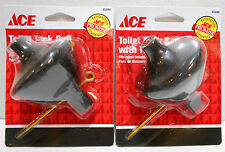 Lot of 2 New 45446 Ace Toilet Tank Ball with Centering Guide Tip