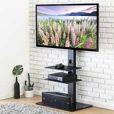 "TV Stand With Swivel Mount For 32""-65 inch Samsung Vizio LG Sony Toshiba LCD TV"
