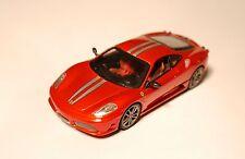 Ferrari 430 Scuderia in rot rouge rosso roja red metallic, Hot Wheels in 1:43!