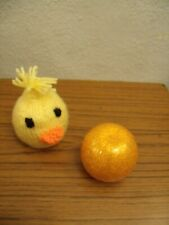 Hand Knitted Easter Chicken Chocolate Orange Cover