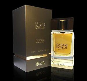 NEW SAFARI EXTREME by ASQ , ROYAL PREMIUM PERFUME , 2.5 OZ EDP , LONG LASTING