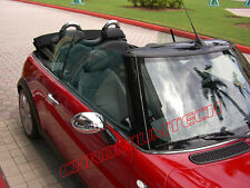 MK1 MINI Cooper / S / Uno / CONVERTIBILE Chrome WING MIRROR CAP COPERCHIO RHD R50 R52 R53