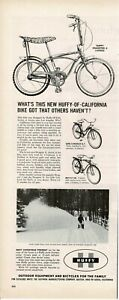 """1964 HUFFY Dragster II Bicycle 3-speed 20 inch 20"""" Bike Vintage Print Ad"""