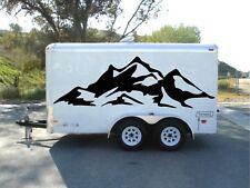 MOUNTS MOUNTAINS graphics decor side camper decal RV vinyl van motor home wrap