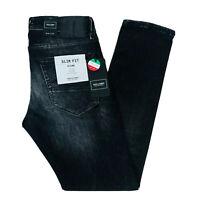 JACK & JONES Homme 'S Glenn Slim Fit Taille Basse Gris Jean Taille W30 L30