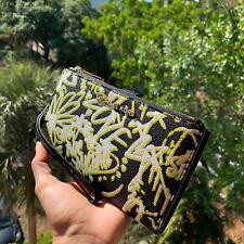 Michael Kors Women Leather Phone Case Wristlet wallet Purse Handbag Clutch Bag