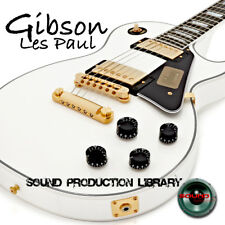 GIBSON LES PAUL GUITAR - Large Unique Original Samples/Grooves Library on DVD