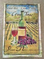 Pinot Noir Wine Decorative Garden Flag