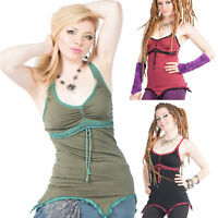 Ladies Boho Top, Hippy Psy Trance Top, Pixie Clothing, Doof Festival Clothing