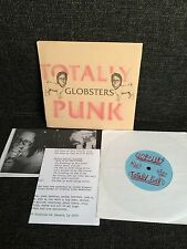 """Globsters – Totally Punk 7"""" Hot Cop Hand Numbered Cover 66/100 Hardcore Noise"""