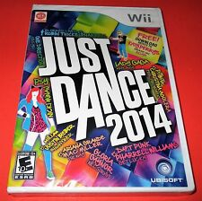 Just Dance 2014 Nintendo Wii *Factory Sealed! *Free Shipping!