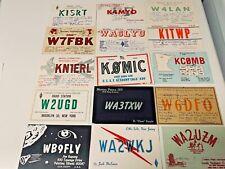 Vintage Ham Radio  Postcards  Lot  # 8