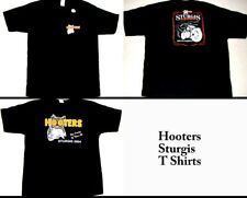 2 Hooters Uniform T-Shirt XXL Sturgis from Harley Bike Rally Fatboy Classic Owl