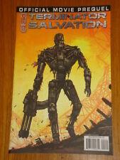 TERMINATOR SALVATION OFFICIAL MOVIE PREQUEL #2 RI COVER 2009 IDW