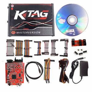 Car RED KTAG V7.020 V2.23 ECU Programming Tool Online Master No Token Limited >