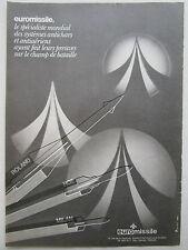7/1983 PUB EUROMISSILE ROLAND HOT MILAN MISSILE ANTICHAR ANTIAERIEN FRENCH AD
