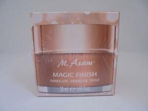 M.Asam magic finish Make up, samtig mattierendes Make up ,50ml, neu