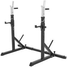 Gorilla Sports Adjustable Squat Rack Barbell Rack