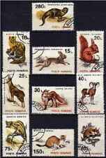 Timbres Animaux Roumanie 4094/4103 o (39154)