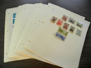 MONGOLIA, Excellent Stamp Collection hinged on pages