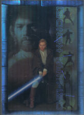 STAR WARS ATTACK OF THE CLONES PRISMATIC FOIL CARD 6