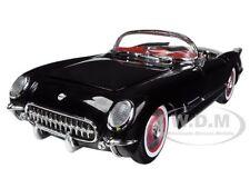 1954 CHEVROLET CORVETTE BLACK 1/18 LTD TO 1500PC  MODEL CAR BY AUTOWORLD AMM1015