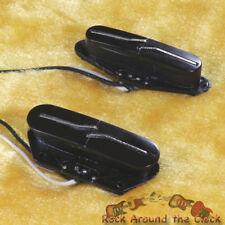 Lindy Fralin Split Blade Vintage Tele Pickup Set NEW! BLACK Color Medium Radius