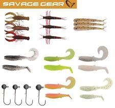 Savage Gear Perch Pro Kit2 - Köderset 19 Barschköder + 4 Jighaken, Barschset