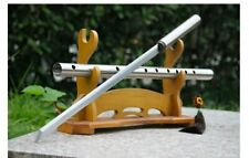 Ninja Combat Straight Carbon Steel Short Secret Pipe Flute Instrument Sword War