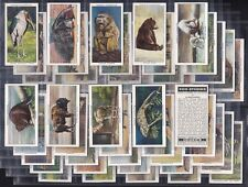 """OGDENS, ZOO STUDIES. ORIGINAL SERIES OF 50 ISSUED IN 1937 """"EXCELLENT CONDITION"""""""
