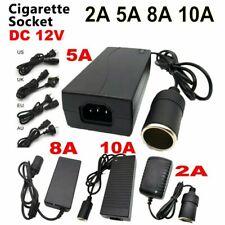 AC Adapter DC 12V 2A 5A 10A Power Adapter Car Cigarette lighter Socket Converter