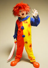 Childrens Halloween Killer Clown Costume with Wig
