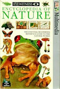ENCYCLOPEDIA OF NATURE, DK Publishing 1995 Windows CD NEW