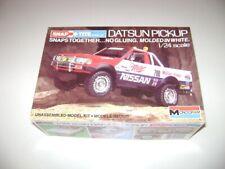 Monogram Nissan Datsun Pickup Snaptite model Truck Kit 1412 1/24 scale