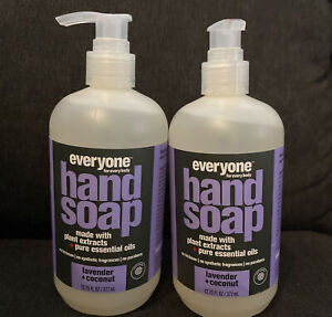 EVERYONE FOR EVERY BODY HAND SOAP LAVENDER and COCONUT 12.75oz (2pack)