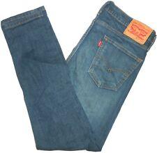 34x30 Levi Strauss STRETCH 510 Skinny Fit Blue Jeans Men's Red Tab Flex Denim