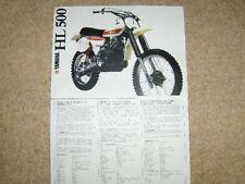Brochures Paper XT Yamaha Motorcycle Manuals & Literature