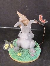 Charming Tails Silvestri 87/423 Rabbit With Butterfly Net Unk Name