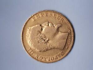 pièce de 20 francs OR - Napoléon III - tête nue - 1856