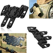 Ambidextrous CQC Serpa Holster Molle Strike Clip Dropleg Platforms Black New
