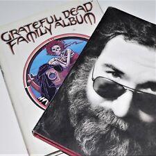 GRATEFUL DEAD - FAMILY ALBUM & GARCIA - 2 x books - vgc - Band history archives