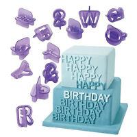 Cake Biscuit Fondant Alphabet Numbler Cookie Letter Decorating Cutter Sugar Mold