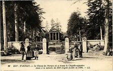 CPA  Env. d'Auray - Le Champ des Martyrs ou se trouve la Chapelle ...(205651)