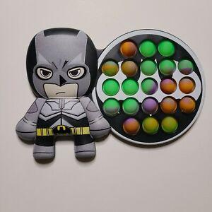 Popit Fidget Toy Push Bubble Sensory Stress Relief Kids Game Batman